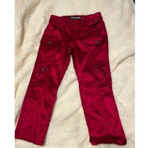 Guess satin cropped pants size 24 2/60